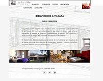 Hotel Patio Alto - Diseño Sitio web responsive
