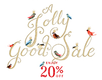 Anthropologie - A Jolly Good Sale