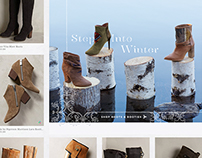 Anthropologie Category Page Landings