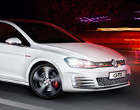 Outdoor Advertising GTI Volkswagen