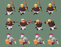 2d Game Character Sprite Sheet