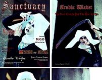 Sanctuary Magazine - Cover/Full Feature (Vol #6)