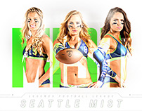 Legends Football League Team Poster & Roster