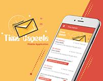 Time Capsule mobile app