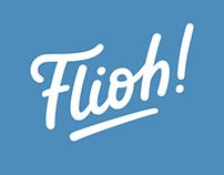 Flioh! logo redesign