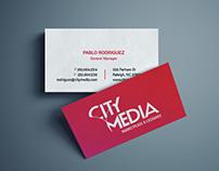 City Media Brand Identity