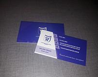 Cartão de visita RV Construtora