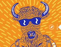 European bison poster