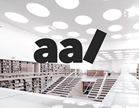 The Alvar Aalto Library sign | Project
