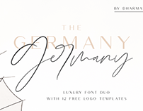 Germany - Luxury Font Duo