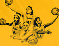 Toledo Women's Basketball Season Ticket Graphic