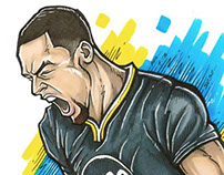 Steph Curry - Passion (Illustration)