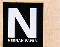 Neenah Sustainable Paper Sample