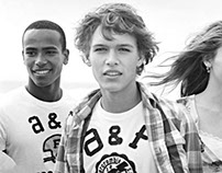 Abercrombie & Fitch guys Graphic tees