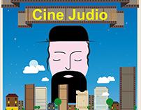 Cartel ficticio del Festival internacional Cine Judio