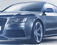 Audi RS5 /// studio