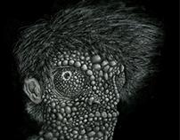 chameleon self portrait
