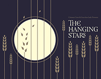 The Hanging Stars - gig poster