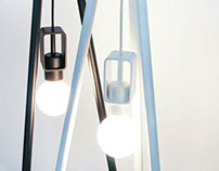 KOTLIC tripod lamp