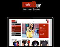 Indebuy Web Design by ravisah.in