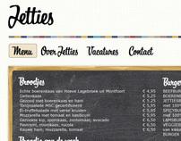 Jetties Restaurant Webdesign