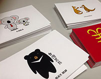 4 Postcard design