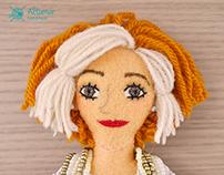 María Jesus. Handmade Custom Doll
