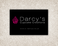 Darcys' Cupcake Creations - Brand Adjustment