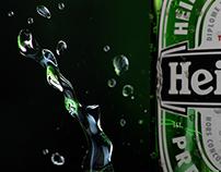 Heineken Bottle Still