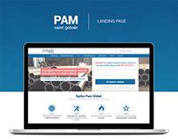 "Landing page ""Pipe sales"" PAM"