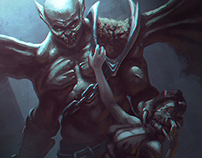 Vampyr warrior