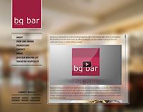 Web Design - BQ Bar, Singapore