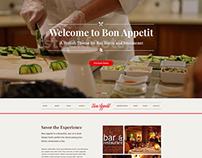 Bon Appetit - A Stylish Culinary HTML Template