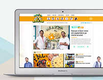 Neatza.a1.ro | Website Redesign