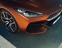 BMW Z4 Concept 2017 - Exterior 3D Modeling