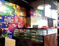 Raisoni Snackbox Restaurant - Digital Wall Mural.