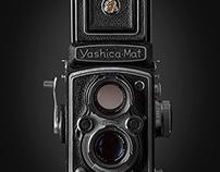 Vintage Camera (Yashica-Mat)