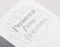 Promised Land Holdings Inc. Stationery Package