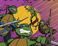 Starburst Ninja Turtles Cover