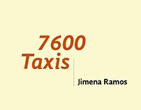 Booklet. 7 600 Taxis por Jimena Ramos