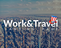 Work&Travel Landing Page