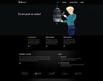 Webová stránka Akvarel