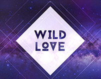 Wild Love Album Cover Design For UP