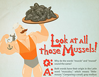 Look At All Those Mussels!