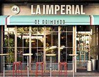 Branding design for the restaurant LA IMPERIAL