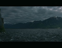 The island - Matte painting