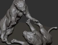 Lion Brutality - 3D Project
