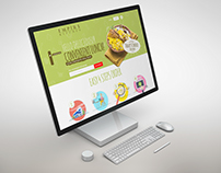 Empire Kitchen Website Mockup