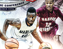 2015 ODAC Basketball Tournament Program Cover