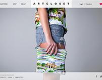 Artcloset   template design